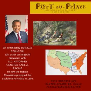 Haitian Revolution + Louisiana Purchase of 1803