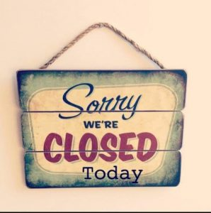 PAP Closed for Thur July 23 - Reopening on Saturday July 25 at 7p