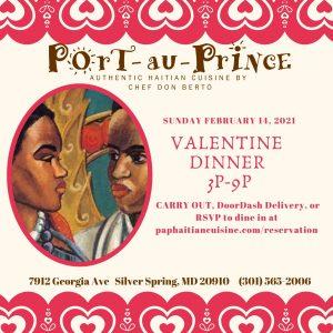 Valentine Day Dinner 2021